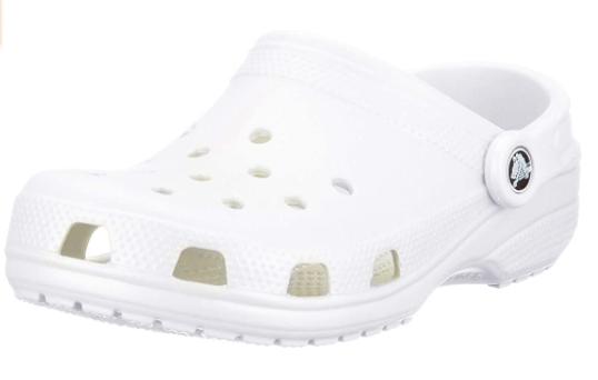 white-classic-croc-clog